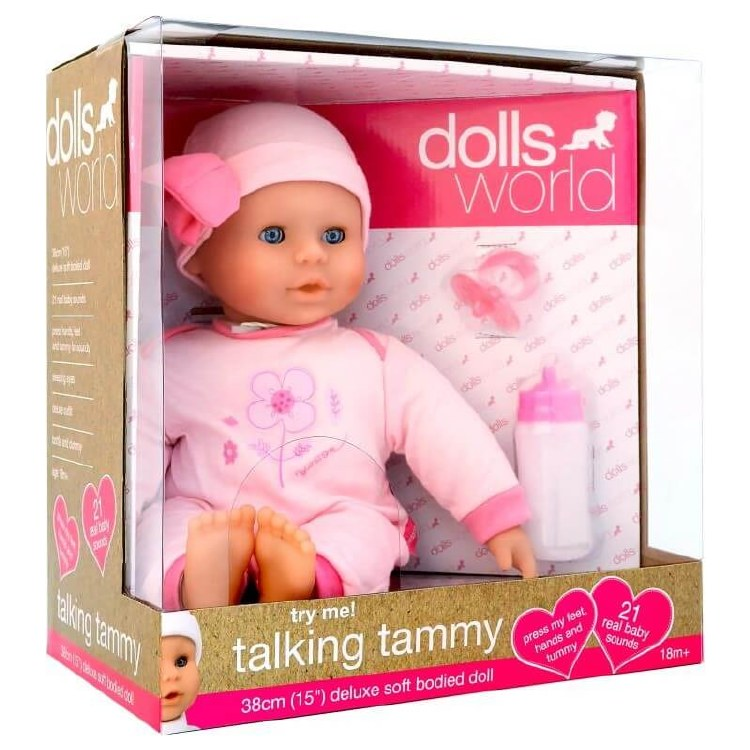TALKING TAMMY DOLLS WORLD