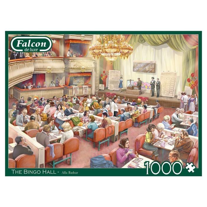 THE BINGO HALL 1000 PCE