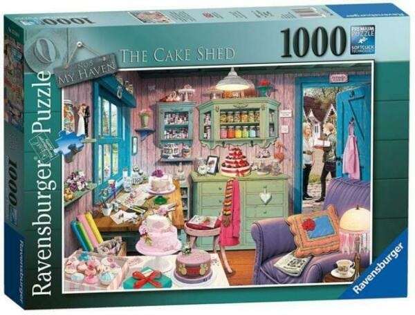 THE CAKE SHED 1000PC