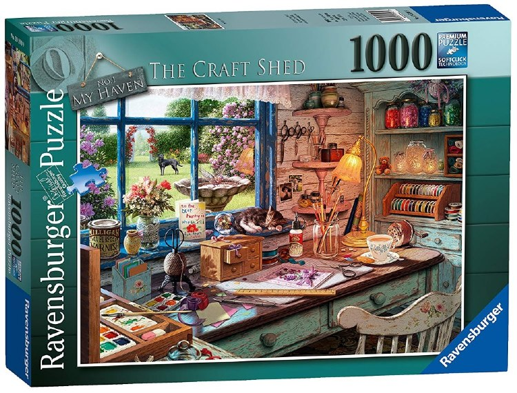 THE COSY SHED 1000PC