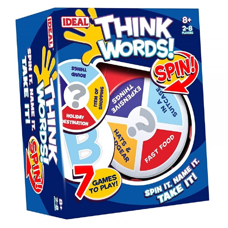 THINK WORDS SPIN