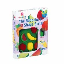 3D SHAPE SORTER FRUIT RUBBABU