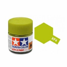 ACRYCLIC MINI YELLOW GREEN PAI