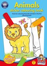 ANIMALS STICKER COL BOOK
