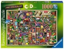 AWESOME ALPHABET C &D 1000PC
