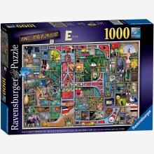 AWESOME ALPHABET E & F 1000PC