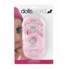 BABY BIBS DOLLS WORLD