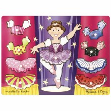 BALLERINA DRESS UP PUZZLE