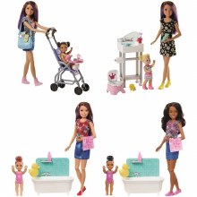 BARBIE SISTERS BABYSITTER PLAY