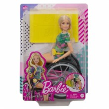 BARBIE WHEELCHAIR BLONDE