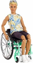 BARBIE WHEELCHAIR KEN