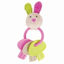 BELLA BEAR KEY TEETHER