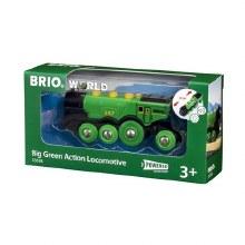 BIG GREEN ACTION LOCO  BRIO
