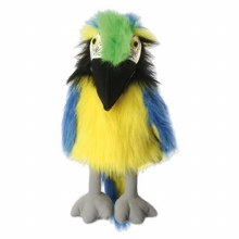 BLUE+GOLD MACAW BABY BIRD PUPP