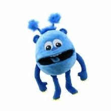 BLUE MONSTER PUPPET