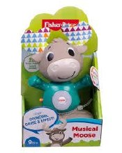 BOBBLE HEAD MUSICAL MOOSE
