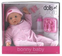 BONNY BABY  PINK 18 INCH DW