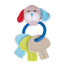 BRUNO BEAR KEY TEETHER