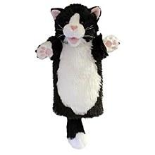 CAT BLACK N WHITE LONG SLEEVED