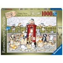 CATS LOST IN THE POST 1000PC