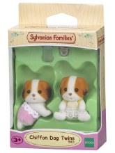 CHIFFON DOG TWINS
