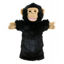 CHIMP LONG SLEEVED PUPPET