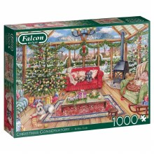 CHRISTMAS CONSERVATORY 1000 PC