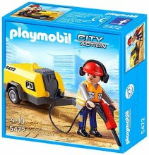 CONSTRUCTION WORKER PLAYMOBIL