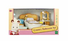 COUNTRY BATHROOM SET SYLVANIAN
