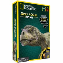 DINO FOSSIL DIG  KIT NAT GEO