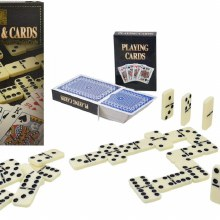 DOUBLE 6 DOMINOES & CARDS