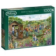 DOWN AT THE ALLOTMENT 1000PCE