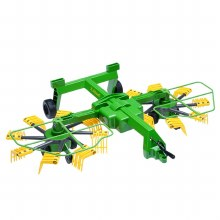 DUAL ROTARY WINDROWER