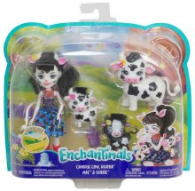 ENCHANTIMALS CAMBRIE COW &CALV