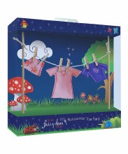 FAIRY DOOR CLOTHESLINE F