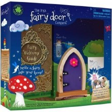 FAIRY DOOR PURPLE ARCHED DOOR