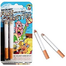 FAKE CIGARETTES WITH SMOKE