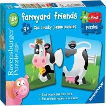 FARMYARD FRIENDS 9 X 2 PCS