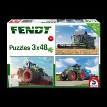FENDT PUZZLE 3X48 PC W/ POSTER
