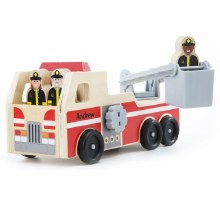 FIRE TRUCK MELISSA & DOUG WOOD