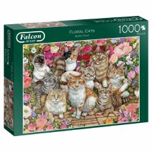 FLORAL CATS 1000 PCE