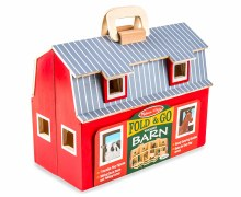 FOLD N GO WOODEN STABLE