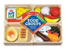 FOOD GROUPS WOODEN