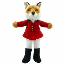 FOX DRESSED PUPPET