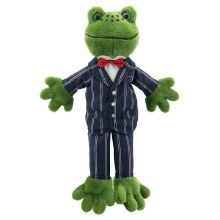 FROG DRESSED PUPPET