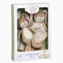 GHMILY RATTLE & COMFORTER GIFT