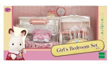 GIRLS  BEDROOM SET SYLVANIAN