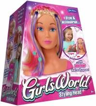 GIRLS WORLD STYLING HEAD