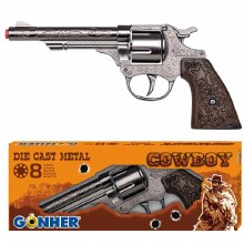 GUN 8 SHOT COWBOY GUN