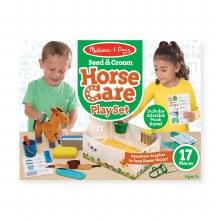 HORSE CARE SET FEED & GROOM